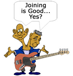 Join CyberfretBass.com Cartoon