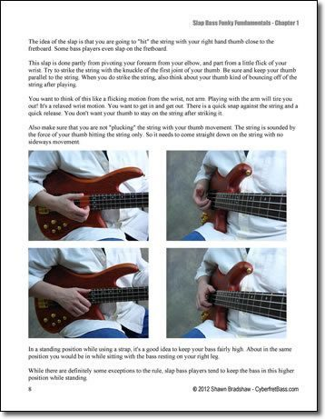 Slap Bass Manual Page 1