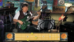 Animated Bass Fretboard 2