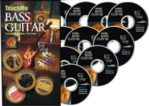Teach Me Bass Guitar DVDs