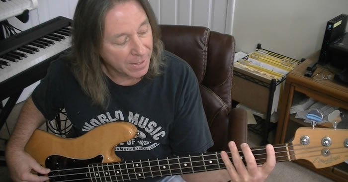 Dorian Pentatonic Blues Bass Line Ideas