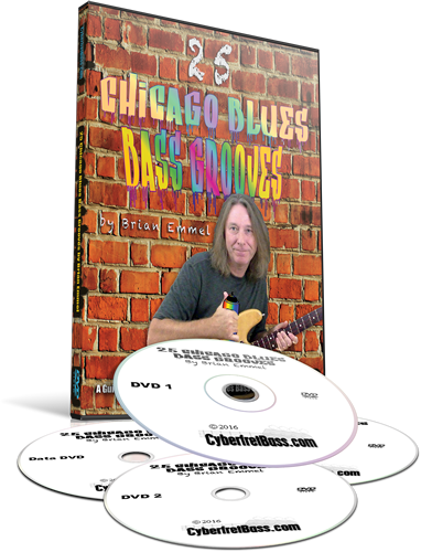 Chicago Blues Bass Grooves